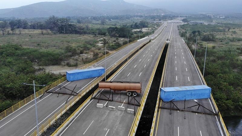 Estados Unidos exige la apertura de un corredor de ayuda humanitaria en la frontera de Venezuela