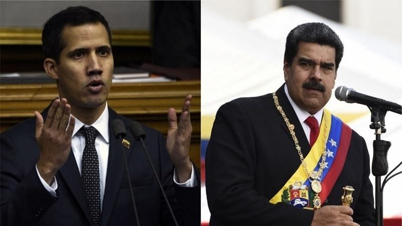 Guaido desafia a Maduro