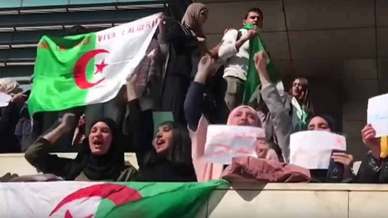 Una ola de protestas en Argelia contra la candidatura de Buteflika