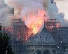 El catastrófico incendio que ha devastado la catedral de Notre Dame