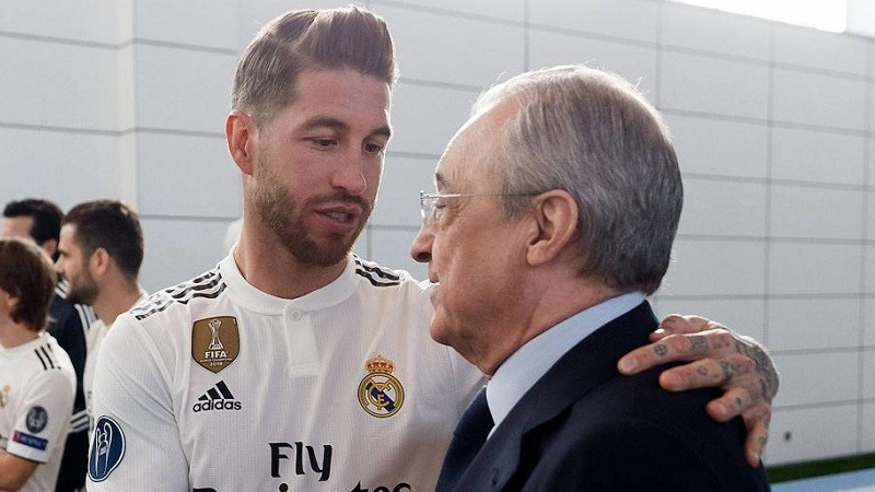 Florentino Pérez confirma que Sergio Ramos pidió salir del Madrid… Gratis!!!