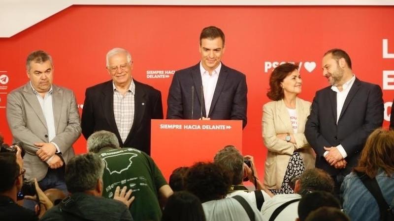 PSOE gana las eleccione europeas