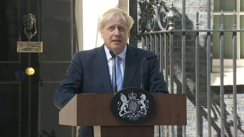 Boris Johnson primer ministro