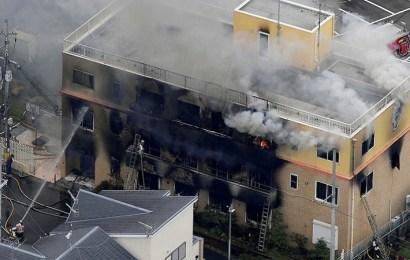 Al menos 33 muertos en un incendio intencionado en un estudio de 'anime' de Japón