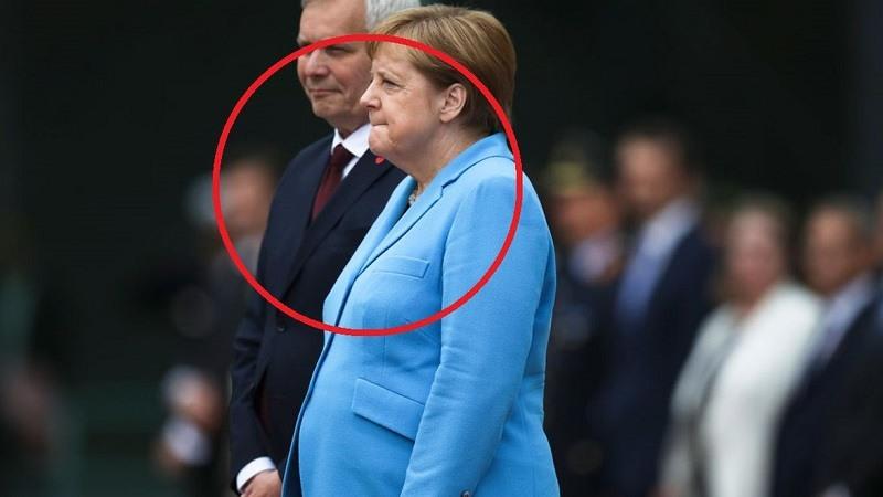 Merkel temblores por tercera vez