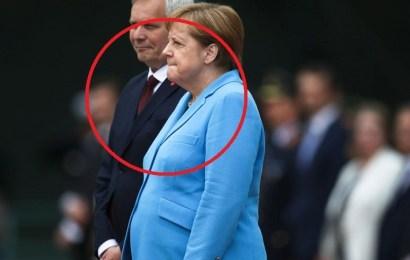 Angela Merkel sufre un nuevo episodio de temblores en un acto oficial