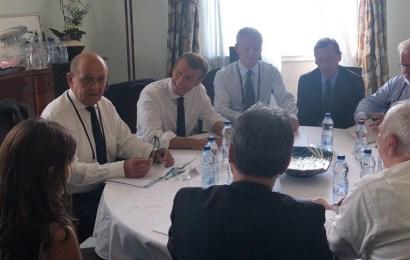 Macron recibe el visto bueno del G7 para negociar con Irán