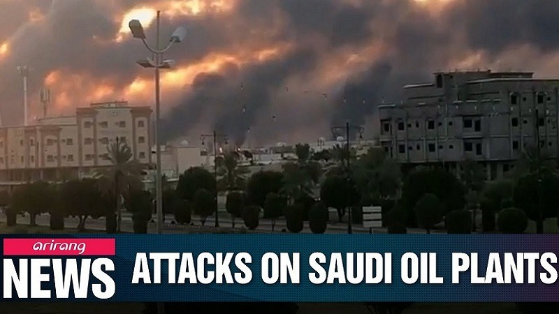 Ataque planta petrolifera Arabia Saudita