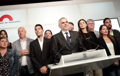 Carrizosa: 'Estoy orgulloso de haber sido expulsado del pleno del Parlament por defender la democracia'