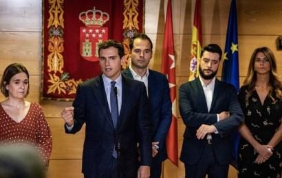 Rivera: 'Le pediré a Sánchez las veces que sean una reunión de Estado para consensuar las políticas necesarias en Cataluña'