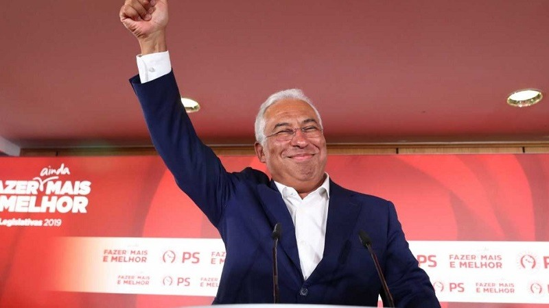 Antonio Costa gana las elecciones en Portugal