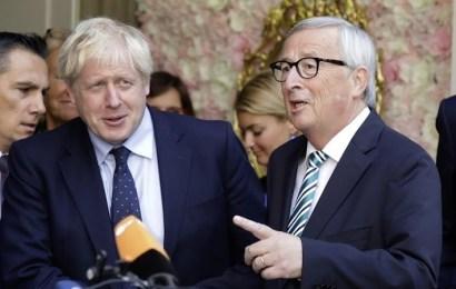 Brexit: Johnson y Juncker anuncian un 'nuevo acuerdo'