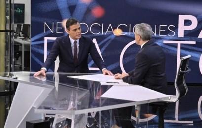 """Pedro Sánchez pide a PP, Ciudadanos y Podemos que """"respondan si el 10 N van a continuar con el bloqueo político o no"""""""