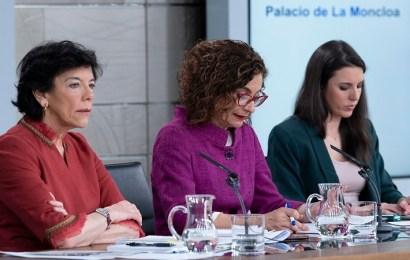 El Gobierno aprueba el proyecto de Ley de Educación y el anteproyecto de ley de Libertad Sexual