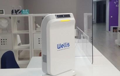 Un nuevo dispositivo que puede desinfectar de virus el aire y las superficies
