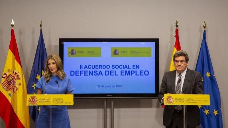 Gobierno agentes sociales