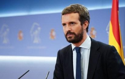 """Casado cree que """"ya era hora"""" de que Sánchez se reuniera con Ayuso"""