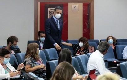 """Sánchez asegura que """"la responsabilidad de cada uno y la unidad de todos"""" permitirán atajar la emergencia sanitaria, social y económica provocada por el COVID-19"""
