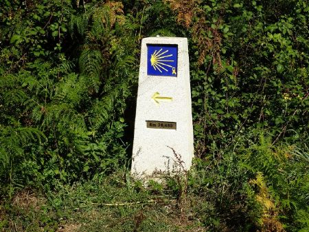 ruta camino de santiago desde Sarria