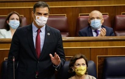 """Sánchez, a Casado: """"Las únicas recortes que necesita España es recortar la corrupción del PP"""""""
