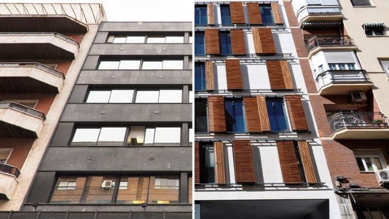 Venta de edificios en Madrid y Barcelona