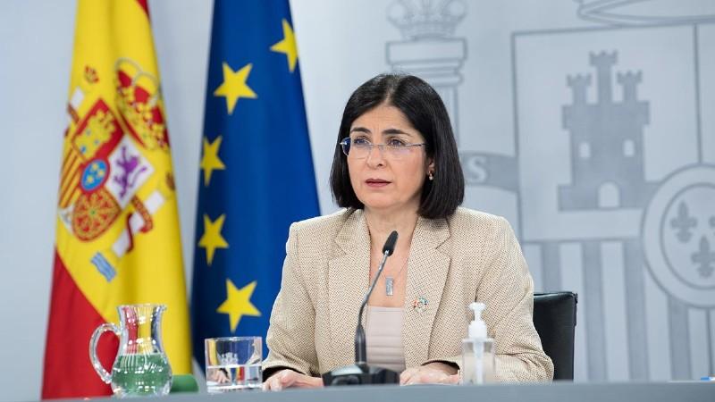 Ministra de Sanidad