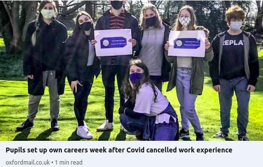 Europa School pupils make their own careers week