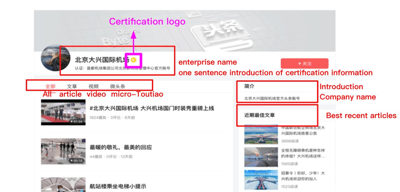 Chinese social media - toutiao