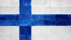 Postcard flags of Eurovision 2014 - Finland