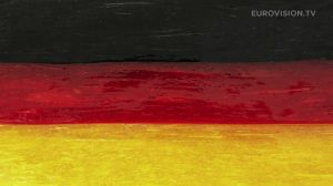 Postcard flags of Eurovision 2014 - Germany