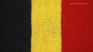 Postcard flags of Eurovision 2014 - Belgium