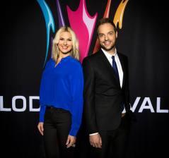 Sanna Nielsen och Robin Paulsson!