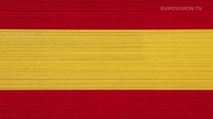 Postcard flags of Eurovision 2014 - Spain