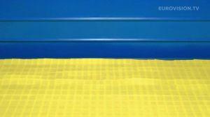 Postcard flags of Eurovision 2014 - Ukraine