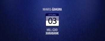 Xarabank - finalisti għall-Malta Eurovision Song Contest Nhar il-Ġimgħa 3 ta' Ottubru