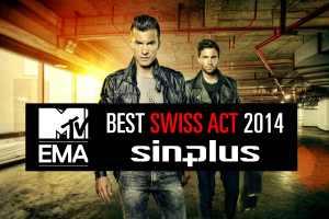 Best Swiss Act at the 2014 MTV European Music Award