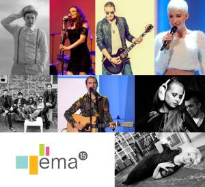 EMA 2015 - Alya in Neno Belan, Clemens, I.C.E., Jana Šušteršič, Maraaya, Martina Majerle, Rudi Bučar in Tim Kores-Kori