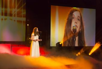 Aimee Banks is the first ever Irish representative in Junior Eurovision
