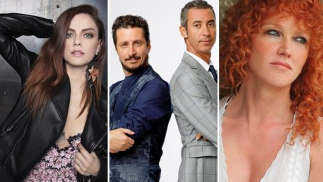 La giuria di Sanremo Giovani 2018: con Luca Barbarossa, Luca e Paolo, Annalisa e Fiorella Mannoia