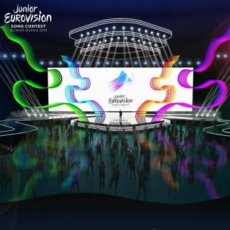 Stage design of the Junior Eurovision Song Contest 2019