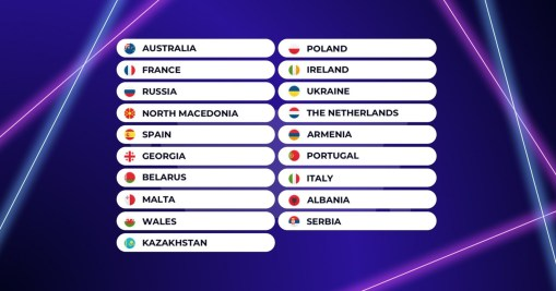 Participants of the Junior Eurovision Song Contest 2019
