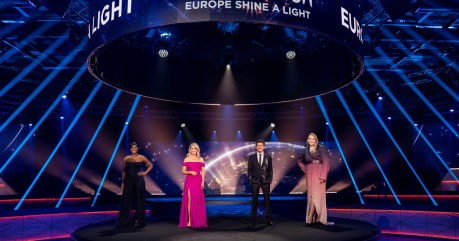 Eurovision - Europe Shine A Light was broadcast in over 40 countries