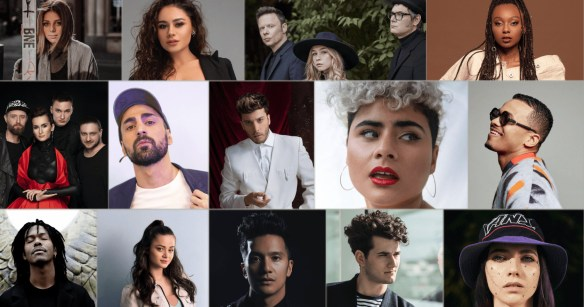 These are the 14 confirmed acts for Eurovision 2021