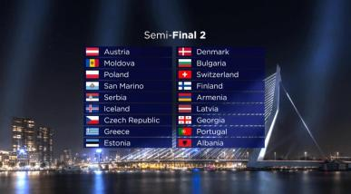 The second Semi-Final of Eurovision 2021