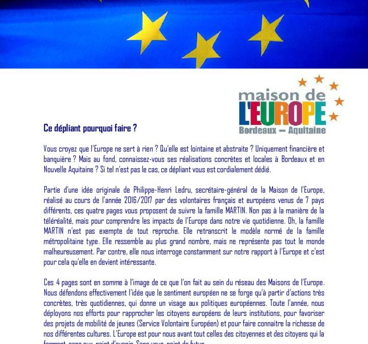 europe brochure quotidien ANM