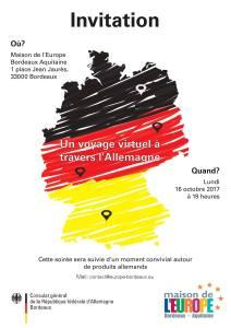 Invitation soirée Allamangne 16 oct 2017