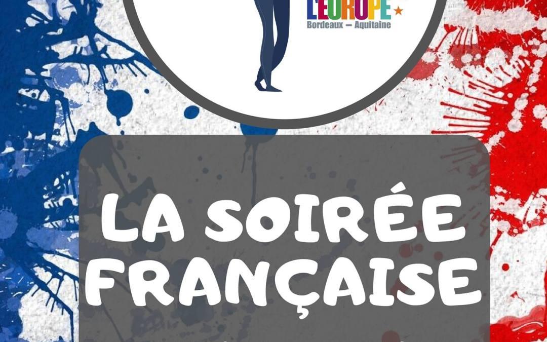 Soirée européenne dédiée à la France