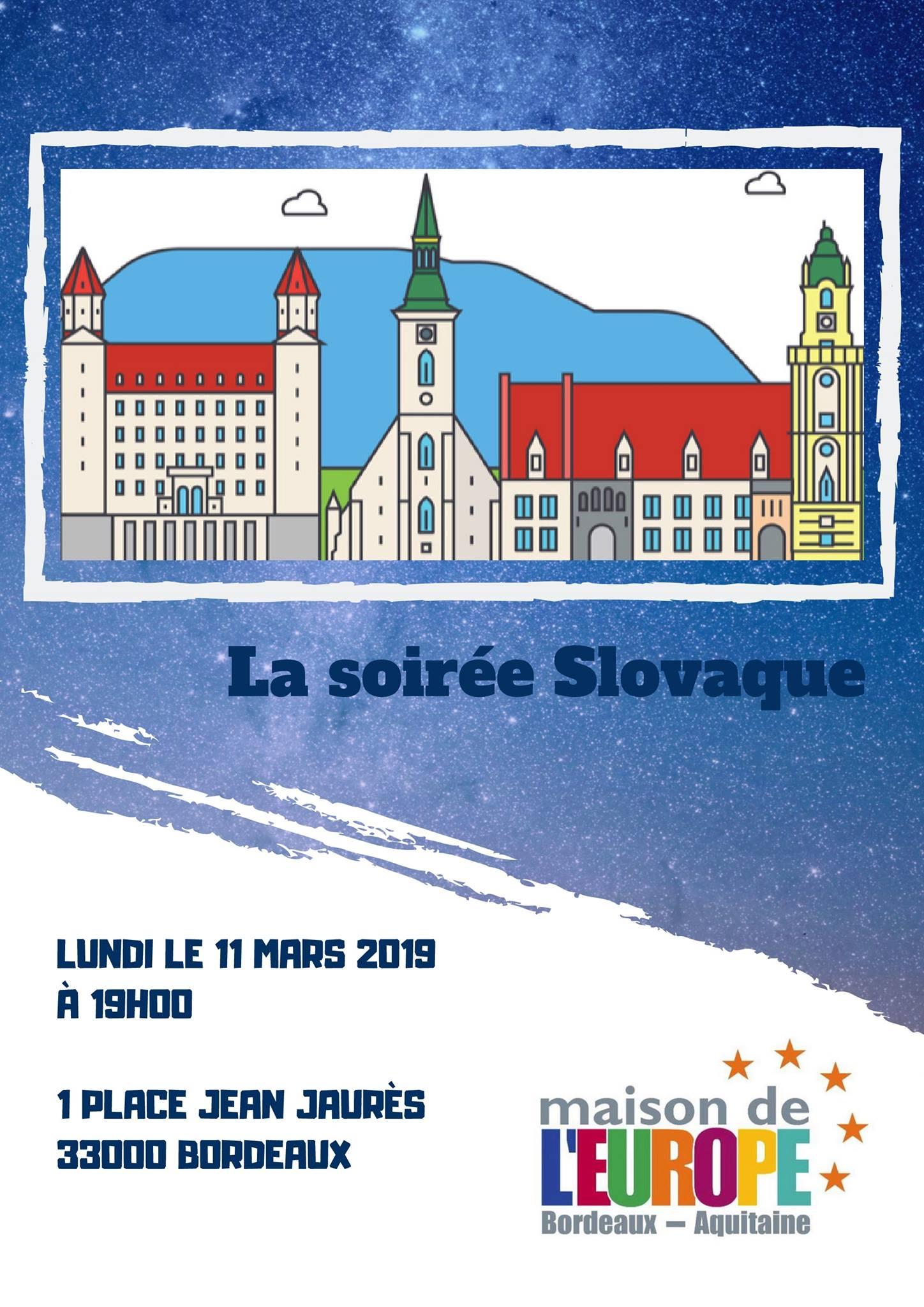 Soirée européenne dédiée à la Slovaquie