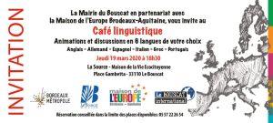 thumbnail of Invitation café linguistique Bouscat – mars 2020
