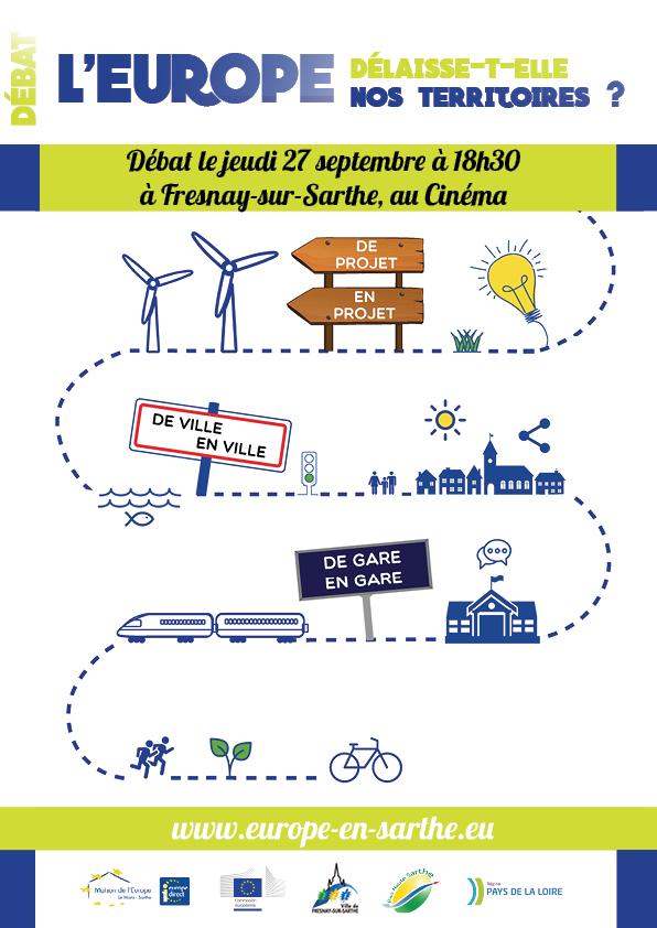 Débat sur la politique de cohésion le 27 septembre à Fresnay